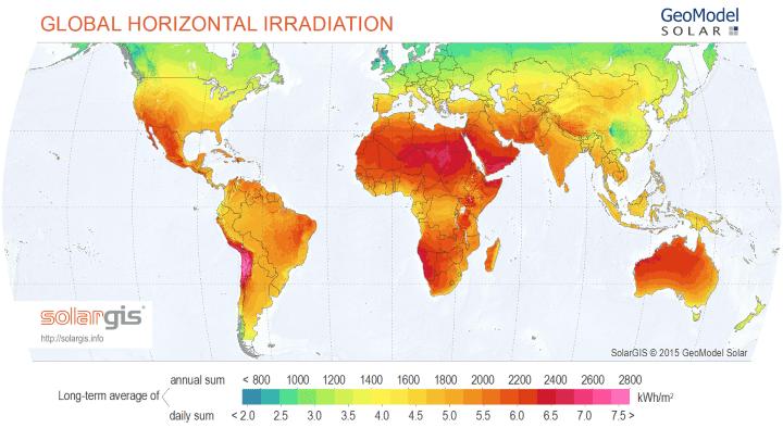 osoji mapa de radiacion solar